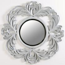 Miroir mural / de style / rond / de salle de bain