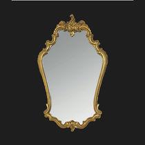 Miroir mural / de style / de salle de bain / en métal