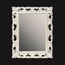 Miroir mural / de style / rectangulaire / de salle de bain
