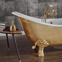 Baignoire sur pieds / en cuivre / en fonte