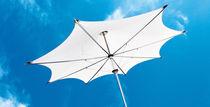 Parasol professionnel / en tissu / en inox / en aluminium
