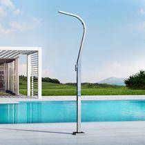 Douche d'extérieur de piscine / multifonction / en acier inoxydable