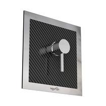 Mitigeur de douche / mural / en fibre de carbone / d'extérieur