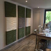 Panneau acoustique pour agencement intérieur / pour plafond / pour mur intérieur / pour cloison