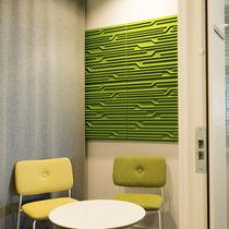 Panneau acoustique pour agencement intérieur / pour plafond / pour mur intérieur / pour panneaux
