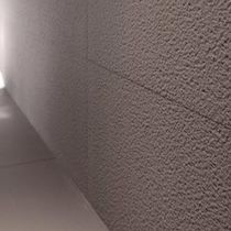 Parement en porphyre / en pierre naturelle / intérieur / gris