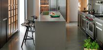 Plan de travail en Solid Surface / en pierre naturelle / de cuisine / résistant à la chaleur