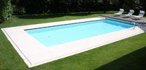 Carrelage pour plage de piscine / de piscine / de sol / en pierre naturelle