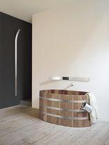 Miroir mural / contemporain / en métal / de salle de bain