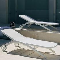 Bain de soleil contemporain / en aluminium / outdoor