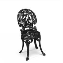 Chaise de jardin classique / en métal / en aluminium