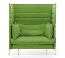 Canapé contemporain / en tissu / professionnel / pour open-space