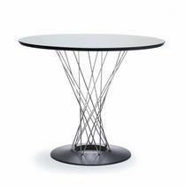 Table à manger contemporaine / en fonte / ronde / par Isamu Noguchi