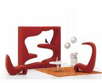 Fauteuil design organique / en tissu / pour enfant / par Verner Panton