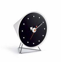 Horloge contemporaine / analogique / de table / en métal
