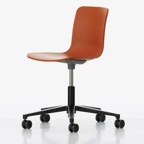Chaise de bureau contemporaine / pivotante / à roulettes / piètement étoile