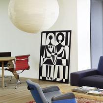Panneau décoratif mural / en tissu / imprimé
