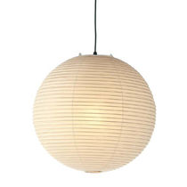 Lampe suspension / contemporaine / en papier / par Isamu Noguchi