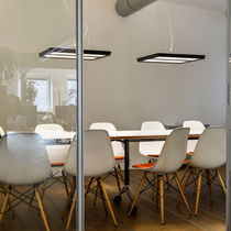 Lampe suspension / contemporaine / en aluminium / basse tension