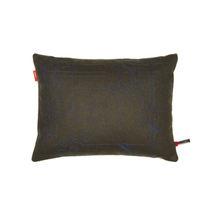 Coussin pour canapé / rectangulaire / en tissu