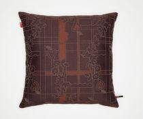 Coussin pour canapé / carré / à motif / en tissu