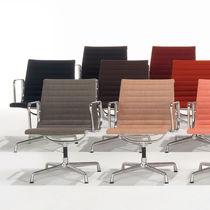 Chaise de bureau contemporaine / pivotante / tapissée / avec accoudoirs
