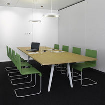Table de conférence contemporaine / en bois / rectangulaire / par Ronan & Erwan Bouroullec