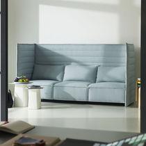 Canapé contemporain / en tissu / pour établissement public / pour open-space