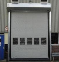 Porte industrielle enroulable / en PVC / automatique / rapide