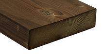 Poutre en bois massif / de section rectangulaire / pour plancher