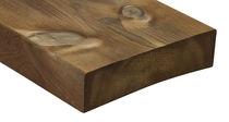 Lames de terrasse en bois de feuillus / durables / écolabel FSC