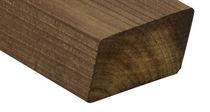 Bardage en bois de feuillus / lisse / en lames / écolabel FSC