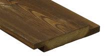 Bardage en bois de feuillus / lisse / en lames / durable