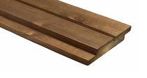 Bardage en bois de feuillus / lisse / en panneau / écolabel FSC