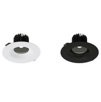 Downlight encastré / à LED / rond / en PC