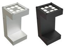 Applique murale contemporaine / en aluminium / à LED / carrée