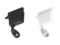 Éclairage sur rail à LED / rond / en métal / professionnel