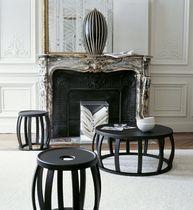Table d'appoint contemporaine / en bois massif / en bois de rose / en palissandre