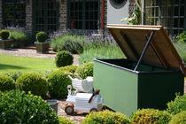 Coffre classique / de jardin / en bois