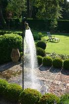 Douche de jardin de piscine / en bois / en acier inoxydable / résidentielle