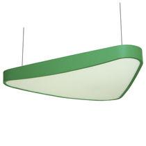 Luminaire suspendu / à LED / rectangulaire / en aluminium