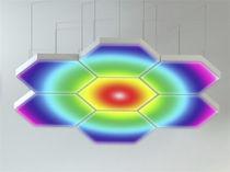 Luminaire apparent / suspendu / à LED / en aluminium
