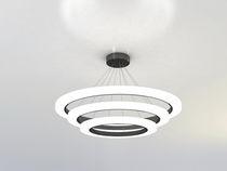 Lampe suspension / contemporaine / en aluminium / en acrylique