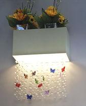 Applique murale contemporaine / en cristal / en plastique / en aluminium