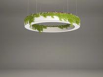 Luminaire suspendu / à LED / rectangulaire / carré