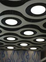 Luminaire encastrable au plafond / suspendu / à LED / carré