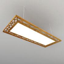 Lampe suspension / contemporaine / en aluminium / en plastique