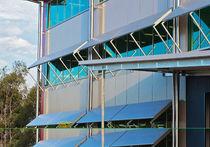 Brise-soleil en aluminium / pour façade