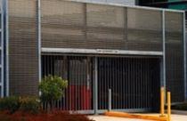 Grille de ventilation en aluminium / linéaire / pour façade