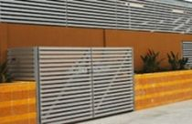 Clôture de jardin / à barreaux / en métal